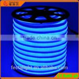 White PVC Base Crystal Blue color 80 Led Neon Flexible tube With 4.8W/M Power