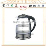 Auto Switch Off Big Capacity 1.7L Glass Electric Tea Kettle