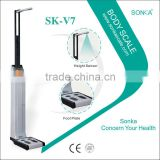 Human Body Weighing Scale Kiosk SK-V7 With Sensor