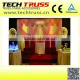 Telescopic pipe and drape for wedding decoration , wedding backdrop stand easy to assemble!