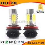 Hot Selling 7.5W LED car light smd H11 light bulb white color fog light H11 HB4 9006                                                                         Quality Choice