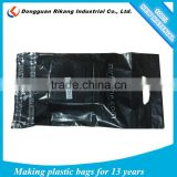 plastic die cut handle bags / punch die cut plastic bags                                                                         Quality Choice