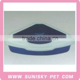 Plastic Cat Litter Box Cat Litter tray