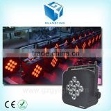 9x10w wireless battery powered led par stage light with ce