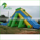 Funny OEM Accepted Products Hongyi Inflatable Floating Water Slide