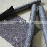 Heat~~non woven felt fabric as moving pad /Non woven felt( paint felt /paint mat with PE coated)