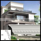 outdoor use waterproof anti-ultraviolet polyurethane cornice Mouldings house architectural design