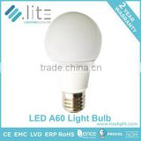 Hangzhou OEM Factory Led lamp Led Bulb A60 A19 Standard 7w Dimmable 560lm Plastic Coated Aluminum E27 E26 B22 Base High Quality