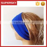 A-134 girl yoga head wrap ear band fabric covered headband earwarmers sport yoga fabric headband