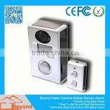 Wireless Wifi Sd Lcd Dvr Solar Camera Alarm With Video Record and Solar Panel