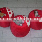 JM7153 plush inflatable stool