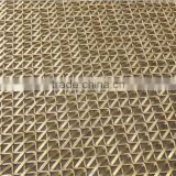 decorative aluminum expanded metal mesh panels / honeycomb decorative wire mesh / decorative metal mesh