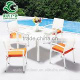 Cheap Price Bali Rattan Outdoor Garden Line Patio Furniture With Dining Table and Chairs                                                                                         Most Popular