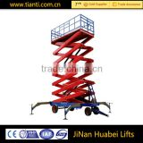 manufacturer hydraulic mobile floor crane made in china