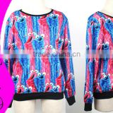 HOT SEXY ! Free Shipping 2015 Women/men Print Space YIP Galaxy hoodies sweatshirts winter warm pullover casual sweaters