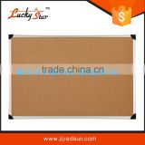 zhejiang Wholesale aluminum framed cork bulletin board with plastic/zinc back/Double Sided 30*40