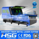 Hot Sale Screen Protector Fiber Laser Metal Cutting Machine with Price HS-F1325A