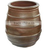 Black clay pot wholesale Cheap