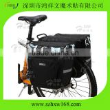 HXW-Double Rear Pannier Bag/Bike Bag For everyday and free time activites