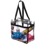 Clear NFL Stadium Tote Bag with Side Pocket