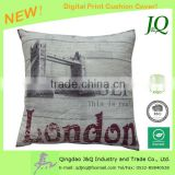 Digital Print London Bridge Cushion Covers