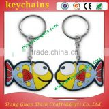 soft PVC charm key buckle/ key holder
