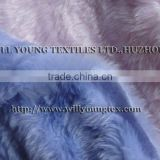 Polyester or mixed with acrylic fur, faux fake fur fabric-fur 250-750GSM