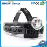 3 Modes Waterproof 2000Lm XM-L2 T6 LED Headlight Headlamp Flashlight Head Torch Light Lamp Bicycle Bike Light Torch set