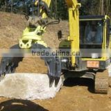 hitachi zx200 Excavator Hydraulic Rotating Grapple Wooden Grapple Log Grapple Stone Grapple