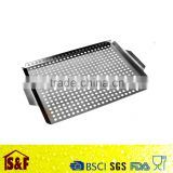Widely useful stainless steel grill grate mesh grid,