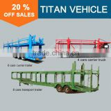 TITAN car carrier truck , cars trucks , car transport truck trailer