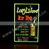 LED Fluorescent Writing Menu Board