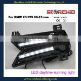 flexible high quality led daytime running light DRL for BMW X3 F25 09-13 use