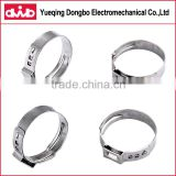 motrocycles high quality stainless steel circular tightening clip all types of pinch clamps