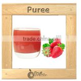 Strawberry puree aseptic