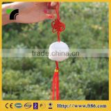 Cheap sheep statue keychain pendant souvenir chinese knot