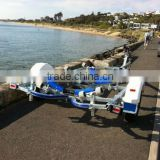 hot dipped galvanized boat trailer/ inflatable boat trailers/jetski trailer