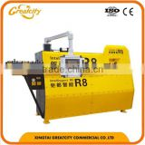 construction machine 12mm automatic rebar stirrup bender