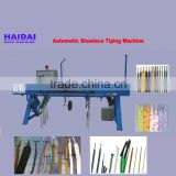 Semi automatic tipping machine for shoe lace