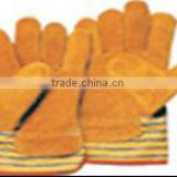 8'' - 10.5'' Length 7/10/13 gauge Cow/Pig split leather /Cotton/Polyester +PVC /PU Manufacturers work glove