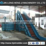 Large capacity baler machine for mini round hay baler with automatic tightening and relaxtaion.