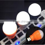 Wholesale USB LED Light Portable Mini USB Flashlight Super Bright Mini USB LED Bulb