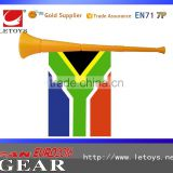 Euro 2018 French horn for cheering, horn with flag, cheering horn for sale