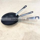 Factory wholesale custom stainless steel non stick non-stick oild free frying pan for pancake