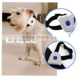 1pcs pet Control Collar Train Training Device High Quality Ultrasonic Dog Anti Bark No Stop Barking Brand New
