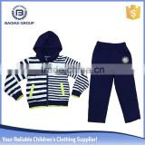 baby wearing private label kids tracksuits wholesale children's boutique clothing custom hoodies