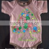 hemp short sleeve baby clothing
