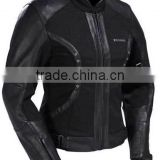 Cordura plus leather Jacket For Sports Bike racing