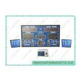 Super Bright LED Electronic Basketball Scoreboard And Shot Clock 50Hz / 60Hz