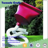 2017 Tornado crafts Fiber glass Art Logo Toothpaste cartoon statues garden Descoration wholesale